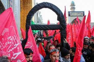 Ceremony Held to See Off Those Serving Arbaeen Pilgrims