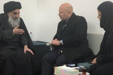 UN Special Adviser Meets Iraq's Top Shia Cleric