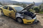 Zionist Settlers Set Fire to Palestinian Cars in West Bank